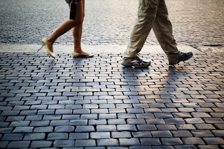 Walking by
